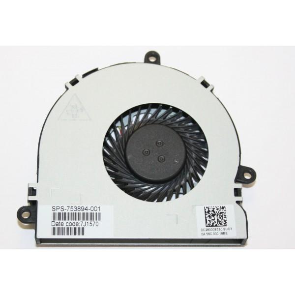 Original HP Pavilion 15-g070nr 15-g019wm 15-g048ca CPU Cooling Fan 753894-001