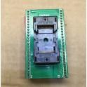 Socket zif para programador universal ots-48-0.5-014 tsop48 para dip48