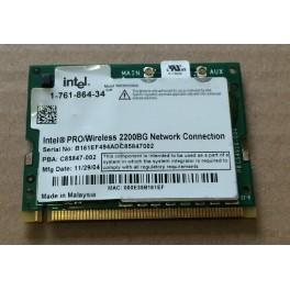 Peças de Sony vgn-s28p pcg-6d5p modulo wifi intel 2200bg