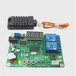 Modulo 5 a 24V Higrómetro e temperatura 2 reles + sensor